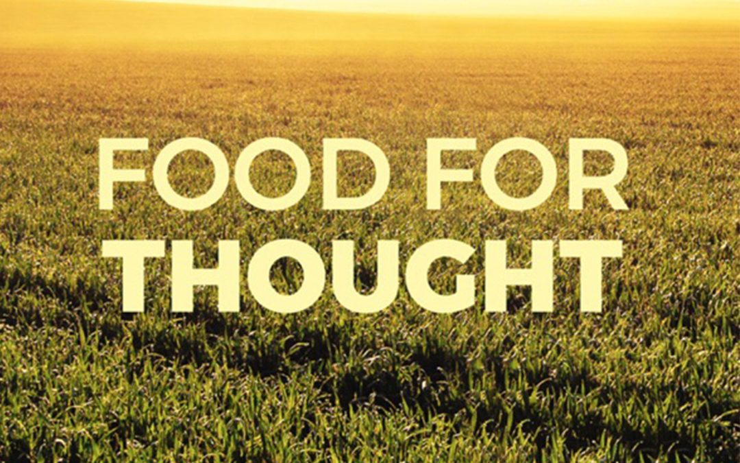 Food for Thought Podcast – Euan Murdoch ep 2